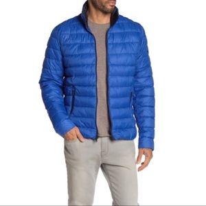 NWT Michael Kors Blue Pavilion Puffer Jacket XL